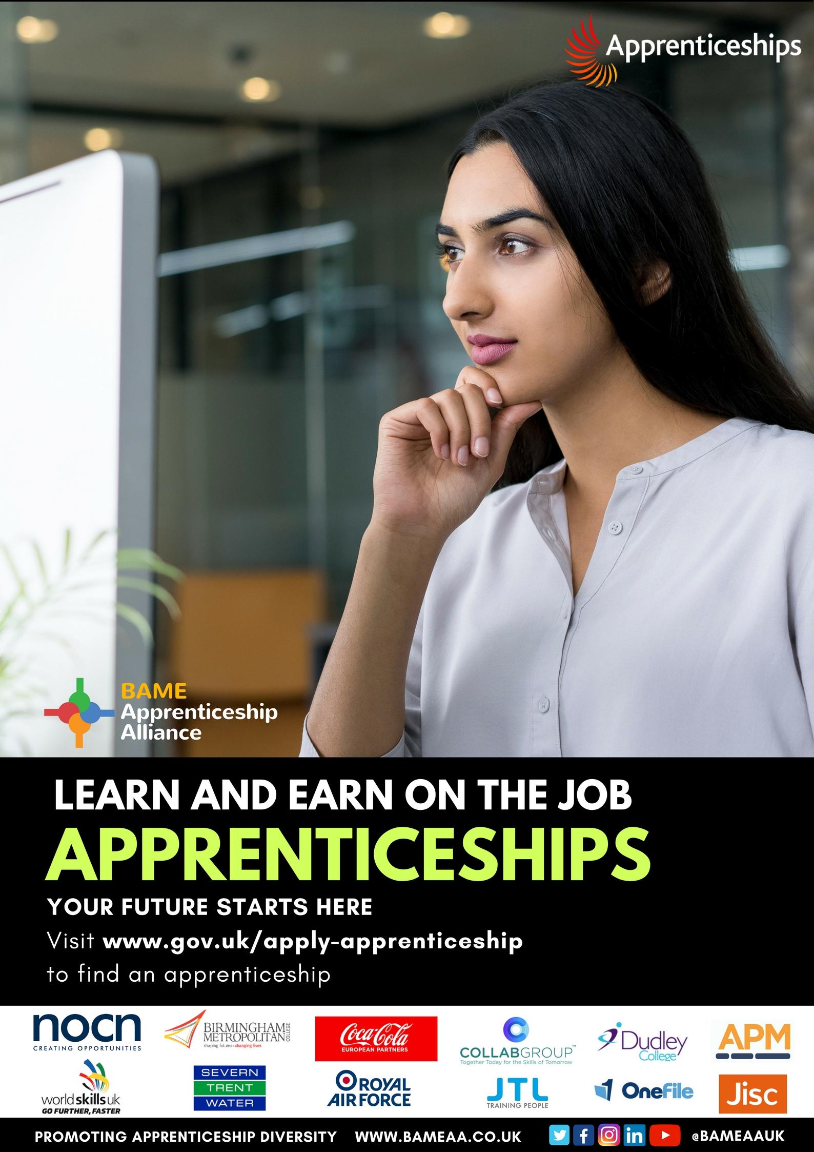 Apprenticeship Campaign BAMEAA F